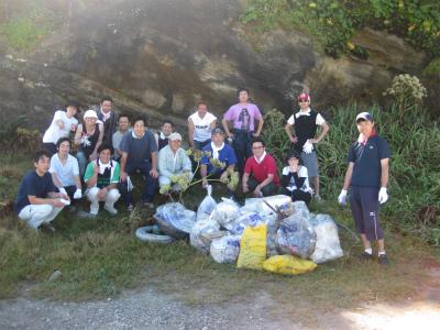 Team530(?)『犬若・千騎ヶ岩周辺のゴミ清掃』1