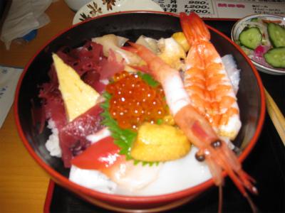 大津漁協直営市場食堂1