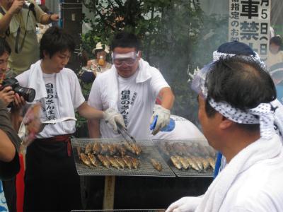目黒のさんま祭り1